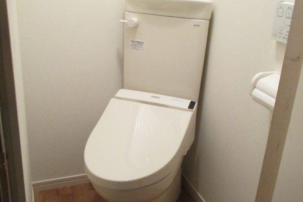 狭いトイレのリフォーム