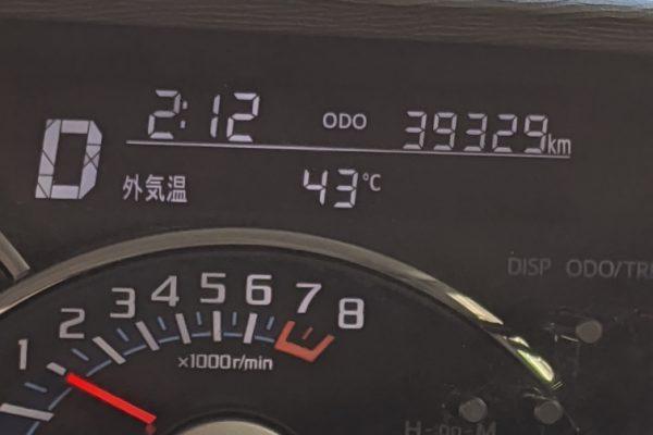 最高気温が出ました!